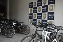 Setor de Saúde Mental recebe doação de bicicletas da Polícia Civil