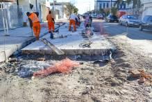 Obras do corredor de ônibus da Deodoro estão aceleradas