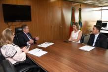 Paula encaminha demandas de segurança ao vice-governador