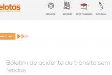 Acidentes de trânsito: boletim de ocorrência pode ser registrado online