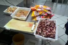 Fiscais apreendem 226 kg de carne irregular no Fragata