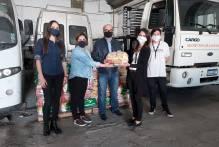 Prefeitura recebe 720 kits de alimentos de empresa