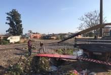 Passarela oferece travessia segura aos moradores do Barão de Mauá e Ceval