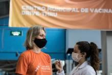Vacinação: mais 2.816 pessoas são imunizadas neste sábado