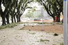 Município realiza força-tarefa para reverter danos do temporal
