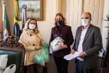 Município recebe 10 mil máscaras de sindicato dos contabilistas