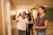 Prefeita vistoria obras no Centro de Atendimento a Síndromes Gripais