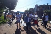 ʽCaminhada pela Paz' reúne comunidade escolar do Getúlio