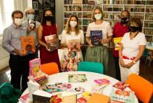 Paula conhece espaço requalificado da Bibliotheca Pública Pelotense
