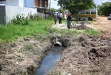 Laranjal recebe melhorias na drenagem