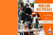 Mercado das Pulgas retorna neste sábado