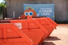 Mais de 2.800 pessoas descartaram resíduos nos Ecopontos em outubro