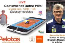 Live Conversando sobre Vôlei entrevista treinador da seleção brasileira