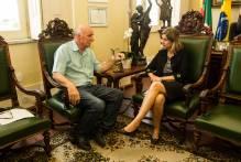 Paula e Benemann discutem regularização na zona rural