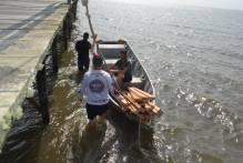 Ações conjuntas da Prefeitura recuperam trapiche do Laranjal