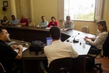 Prefeita e secretários acertam ações do Pacto Pelotas pela Paz