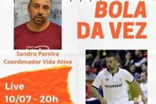 Live A Bola da Vez entrevista profissional do futsal Yuri Acosta