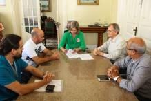 Prefeitura assina novo contrato de requalificação do Calçadão
