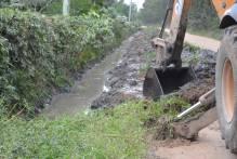 Vila Governaço recebe melhorias no sistema de drenagem