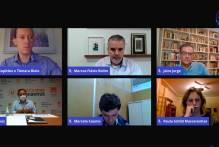 Prefeita palestra em seminário virtual sobre segurança pública
