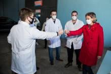 Prefeita acompanha vacinação dos profissionais do transporte coletivo