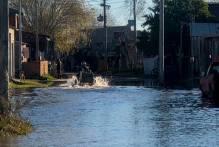 Água sobe no São Gonçalo e Município segue alerta