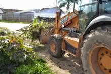 Mutirão retira 39 caçambas de lixo das Três Vendas