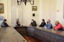 Paula se reúne com representantes de ginásios esportivos