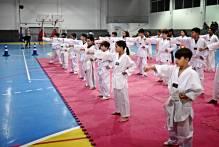Alunos de taekwondo do Vida Ativa passam por exame de faixa