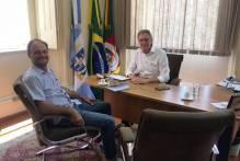 Vice-prefeito reúne-se com representante da Ecosul