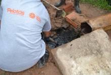 Mão de Obra Prisional recupera drenagem da Vila Governaço