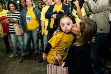 Crianças e jovens com Down estrelam exposição fotográfica