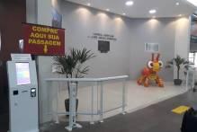 Totem para venda de passagens é instalado na Rodoviária