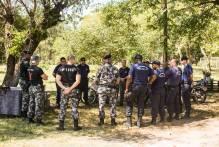 Efetivo da Guarda Municipal recebe treinamento do 5º BPChoque