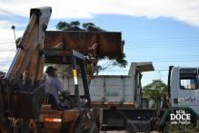 Recolhimento de lixões é feito no bairro Três Vendas