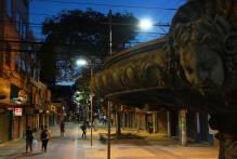 Calçadão de Pelotas tem iluminação com LED