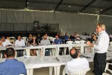 Prefeitos da Azonasul reúnem-se em Herval para tratar das demandas da região