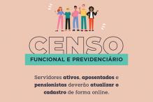 Censo Funcional e Previdenciário já pode ser respondido