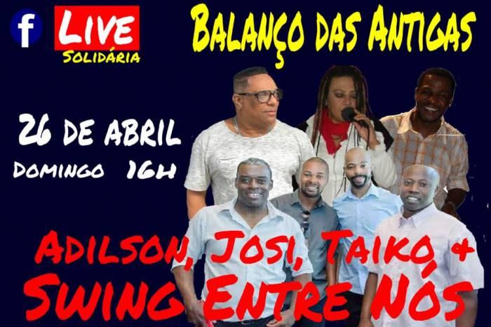 Grupo pelotense Swing Entre Nós promove 'live' solidária