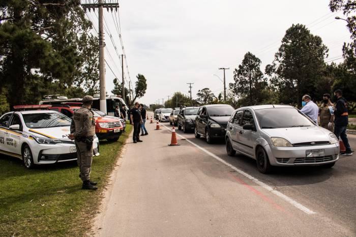 Mais de 400 veículos são abordados durante Operação Saúde Para Todos