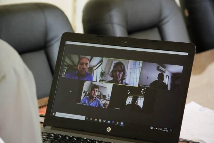 Prefeita faz videoconferência com Aliança Pelotas para tratar do plano de enfrentamento à pandemia