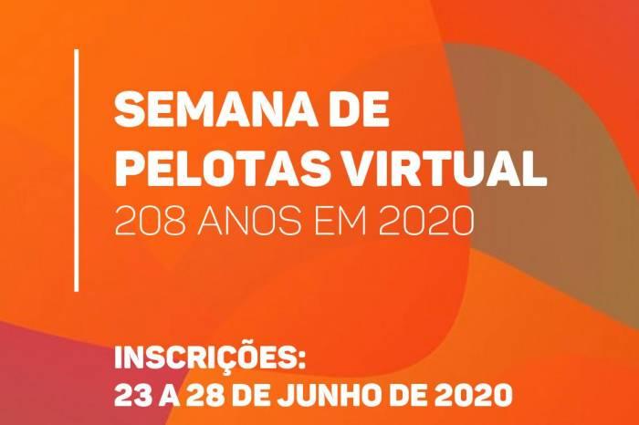Semana de Pelotas será virtual devido à pandemia