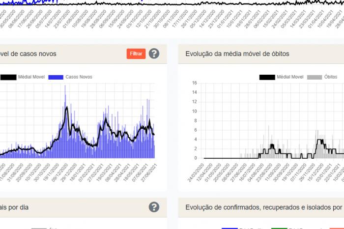 Painel Covid-19 divulga dados sobre a pandemia em Pelotas