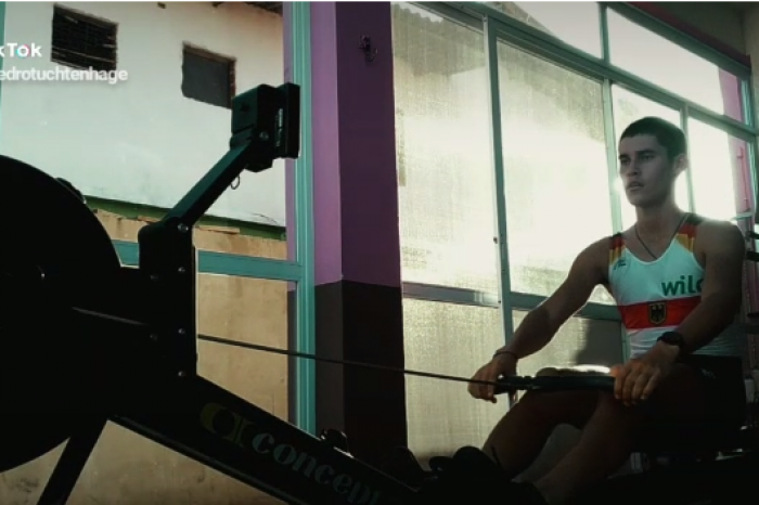 Atletas do Remar para o Futuro mantêm rotina de treinamento em casa