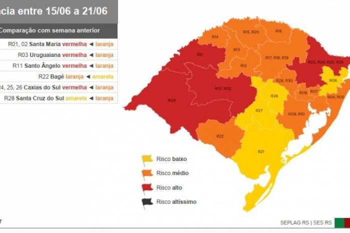 Pelotas permanece com bandeira amarela no modelo de Distanciamento Controlado