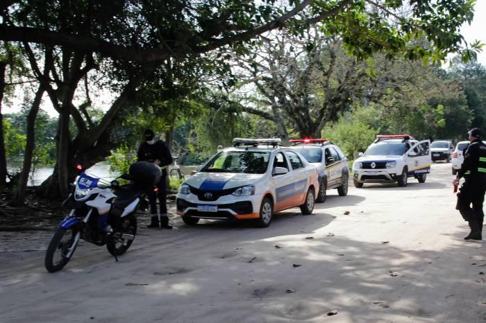 Operaçōes Integradas coíbem aglomerações em Pelotas