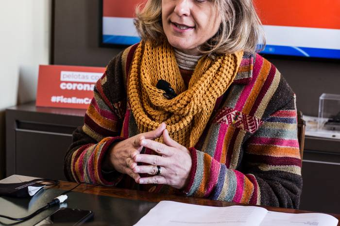 Prefeita pede apoio à população para conter avanço do coronavírus