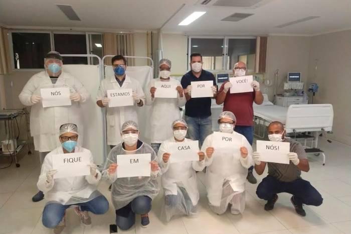 Equipes da saúde estão prontas para atender e precisam de proteção
