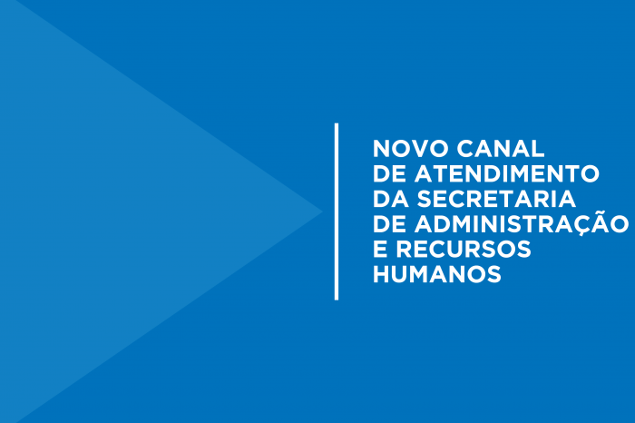 Secretaria de Administração e Recursos Humanos faz atendimento on-line