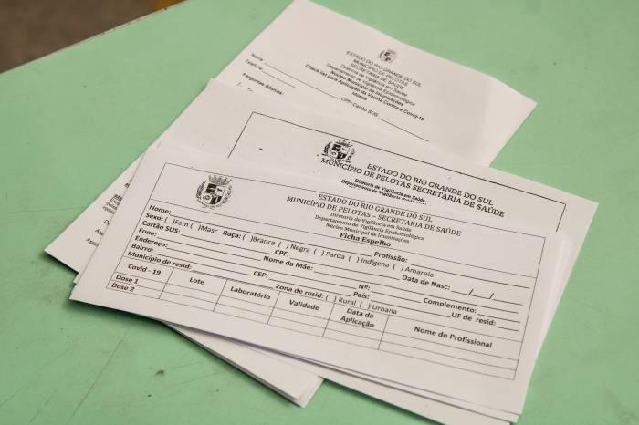 Prefeitura disponibiliza formulário para vacinação contra a Covid-19